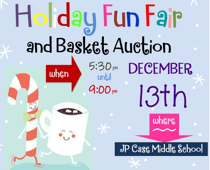 Holiday Fun Fair & Basket Auction