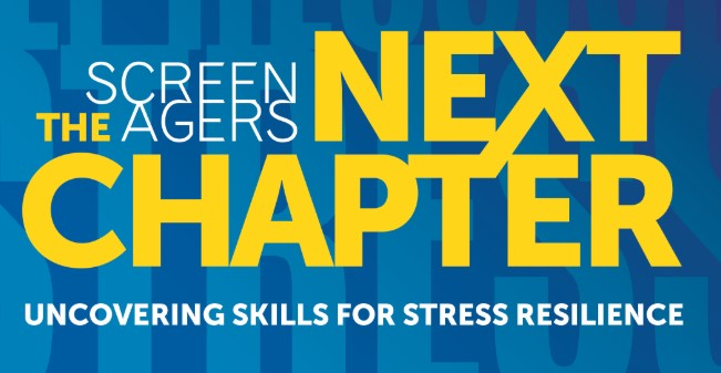 Oct. 7: Screenagers' Next Chapter--Uncovering Skills for Stress Resilience. Register today!
