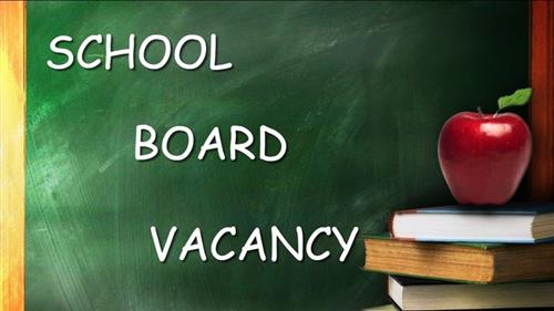 Board of Education Vacancy