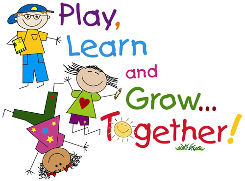Play, Learn, and Grow...  Together!!