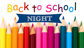 Back-to-School Night for grades 1-4