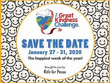 The Great Kindness Challenge - January 27th - January 31st