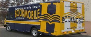 The HC Bookmobile is coming every Thursday to RH!
