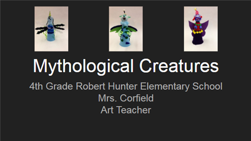 Mythological Creatures Presentation