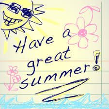 Have a healthy and fun summer!!