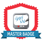 ShowMe Master Badge