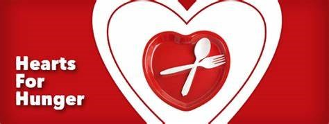 HAVE A HEART FOR HUNGER THIS MONTH