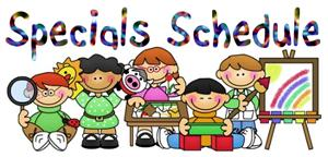 Image result for specials schedule